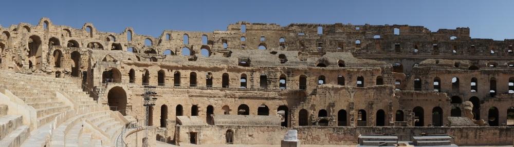 El Jem Coliseum, near Monastir