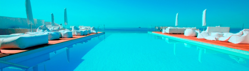 The Infinity Pool at the 5* Sindbad Hotel in Hammamet